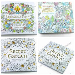 Secret Garden Coloring Books Animal Kingdom Adult Reducing Stress Drawing Book Diy 1071Z UK