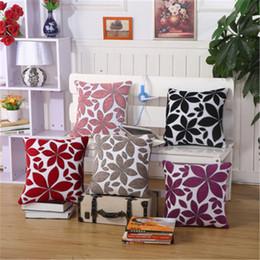 Wholesale Luxury Throws - BZ165 Luxury Cushion Cover Pillow Case Home Textiles supplies Lumbar Pillow chenill Fabric decorative throw pillows chair seat
