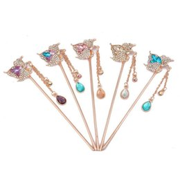 Wholesale China Hair Pieces - High quality Step up the headdress bride tassel hairpin hair fashion women hairpin hot FZ037 mix order 20 pieces a lot