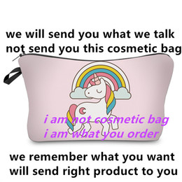 Wholesale cosmetic items - instagram product ins talking items COLORFULL FASHION COSMETIC BAG 8888