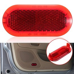 Wholesale Cars Caddy - 1Pcs Car Auto Door Interior Courtesy Door Red Warning Light Reflector For VW Beetle Caddy Polo Touran 6Q0947419