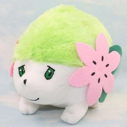 Wholesale Shaymin Plush - New arrival 100% Cotton 3pcs Lot 15*20cm Shaymin Pocket Monsters Pikahcu Plush Doll Stuffed Animals Toy For Baby Gifts