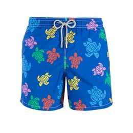 Wholesale Boxer Printing - 2017 Summer Turtle Printed Brand Men Beach Shorts Board Boxer Trunks Shorts Bermda Casual Bottoms Fitness Quick Drying Active Shorts