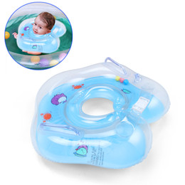 Wholesale Neck Float Wholesale - Summer Baby Float Swimming Neck Ring Adjustable Inflatable Safety with Strap Handle Have Fun For Infant