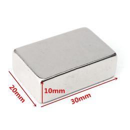 Wholesale Neodymium Magnets N52 Block - N52 30x20x10mm Neodymium Block Magnet