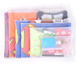 Wholesale Locking Clothes - Zipper Lock Packing Bags PE Plastic Clear Clothing Accessories Packing Bag Home Storage Organizer Travel Lage Pouch Package Bags Zip