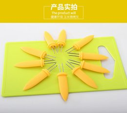 Wholesale Chickens Sold Wholesale - Best Selling Stainless Steel Simple Convenient Corn Chicken Wings Barbecue Tools Skewers Sweetcorn BBQ Prongs