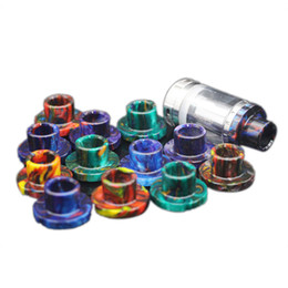 Wholesale Bear Tanks - Aspire Cleito 120 Atomizer E cigs Replacement Epoxy Resin Wide Bore Drip Tips For Cleito 120 Tanks
