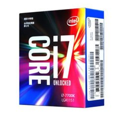 Wholesale Cpu Processor I7 - 2017 Original for Intel Core i7 7700K Processor 4.20GHz  8MB Cache Quad Core  Socket LGA 1151   Quad Core  Desktop I7-7700K CPU