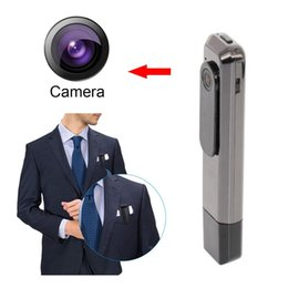Wholesale Mini Dv Pen Video Hidden - HD Mini Pocket Video Recorder Pen Camera Portable Tiny Hidden Video Voice Camcorder DV WIDE Degree Black in stock