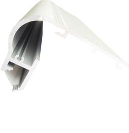 Deutschland 10 x 1 m Sätze / Los Al6063 Aluminium LED-Streifen Licht Profil und eloxiertem Silber LED-Profil Extrusion für Schritt Treppen Beleuchtung cheap silver step Versorgung