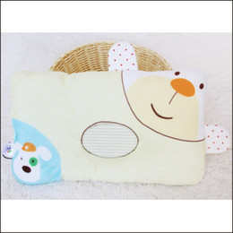 Wholesale Cotton Baby Printing Shaping Pillow Anti Static Infant Newborn Organic Cotton Pillows Infant Toddler Bedding Soft Neck Pillows