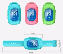 Wholesale Pc Wrist Watch - 1 pcs Newest Smart Baby Watch Q50 Kid Safe GPS Watch Wristwatch SOS Call Location Finder Locator Tracker for Child Anti Lost Monitor