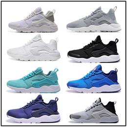 Wholesale Breathe Light - air Huarache III Run Running Shoes 2017 New Design Air Huarache Ultra Triple Black White Huraches 3 Sneakers Ultra Breathe sport Shoes