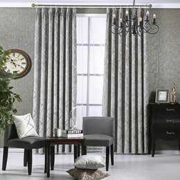 Wholesale Fix Doors - New Style Windows Curtain For Living Room Bedroom Hotel Gold chenille Jacquard Flowers Drapes Blackout Window Drapes Custom Made For Window