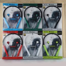 повесить наушники уха Скидка Продажа Hanging ear stereo Портативный наушник Спорт Bluetooth-гарнитура MS-770 Высокое качество Красивая и прочная dhl бесплатная доставка EAR227