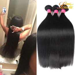 Wholesale Weight Machine Wholesale - New Arrival Malaysian Straight Hair Bundles 100g Piece Unprocessed Virgin Hair Weaving 100% Human Hair Weaves True To Length And Weight