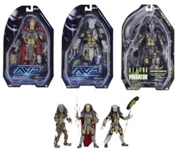 "Wholesale Vs Models - AVP Aliens vs. Predator Series NECA Young Blood Predator   Serpent Hunter PVC Action Figure Collectible Model Toy 8"" 20cm KT3595"