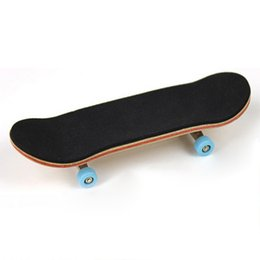 Wholesale Fingerboard Woods - Wholesale-Wood Finger Skateboard Professional Maple Alloy Stent Bearing Wheel Fingerboard Adult Novelty Toy Cheapest