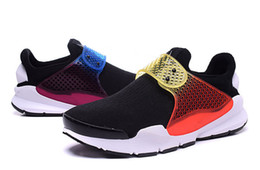 Wholesale Discount Leather Shoes For Women - 2017 Socks Dart X Fragment Air Presto Fur leather winter running shoes for men&women discount athletic trainers shoes size 36-44