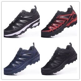 Wholesale Running Gifts - Christmas gift 2017 New Zapatillas Speedcross Running Shoes Men Walking Ourdoor Sport shoes waterproof hiking shoes Size 40-46