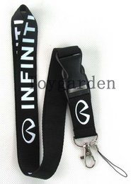 Wholesale Card Holder Straps - sell 10Pcs Popular Infiniti Mobile phone camera Necklace Strap Lanyards ID Card Holder A41