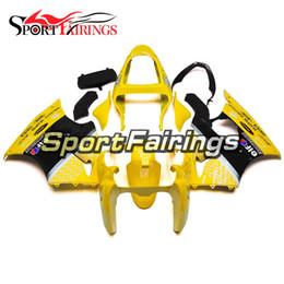 Carimbos de injeção para Kawasaki ZX6R ZX-6R ano 00 01 02 2000 - 2002 Sportbike ABS motocicleta Fairing Kit carroçaria Fairing amarelo com ponto de