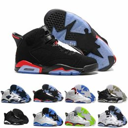 Wholesale Cheap Lycra Top - Women Black Infrared Top Quality Retros 6s Men's Basketball Shoes Comfortable Cheap Good Quality Sports Leather free shipping Sneakers 6