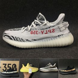 Wholesale Boys Shoes Youth - 350 V2 Shoes Children all Youth, sports running Shoes Boost 350 V2 Kids Boys sport Shoes