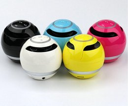 Wholesale Mini Ball Speaker Dhl - hot sale YST-175 Mini colorful Ball Portable Bluetooth Wireless speakers Super Bass Stereo Handsfree subwoofer Mic TF Card LED Light DHL