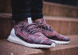 Wholesale Low Shoes For Men - 2017 Mens and Womens Consortium Kith x Ultra Boost Mid Uncaged Aspen Running Shoes Sports Sneakers for Men and Women Primeknit Runners