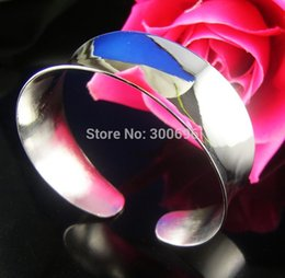 Wholesale Fishing Hooks For Sale - Wholesale- H:HYDE Hot sale Wholesale Fashion Women Female Jewelry silver color charming Bangles Cuff Bracelets for gifts pulseiras