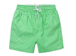 Wholesale Male Pants Casual Sports - 2016 New Arrived Men's beach shorts Casual quick-drying stripe shorts Male sport Summer Swimming pants