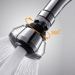 Wholesale Water Saving Faucet Adapter - Faucet Aerator Water saving device For Home hotel 360 Degree Water Bubbler Swivel Head Saving Tap Faucet Aerator Adapter Device