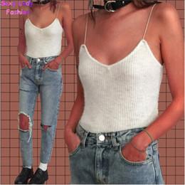 Wholesale Silver Bustiers - Wholesale- 2016 New Camis bralette bustier crop Top camisetas strappy bra tank vest Elastic straps tee femme s m 6 colors