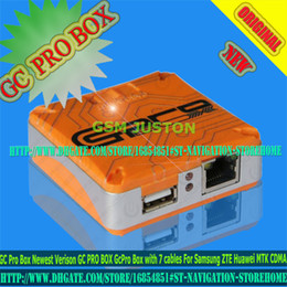 Wholesale Unlocked Cdma - Newest Verison GC Pro Box GC PRO BOX GcPro Box with 7 cables For Samsung ZTE Huawei MTK CDMA