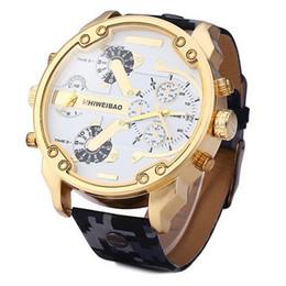 Wholesale Camouflage Watch Strap - INFANTRY Luxury Army Sport Quartz Camouflage Strap Mens Digital Wrist Watch