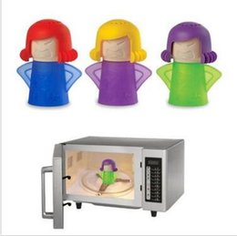 Wholesale Oven Clean - Microwave Oven Steam Cleaner Easily Cleans the Crud In Minutes Angry Mama Steam Cleans and Disinfects With Vinegar and Water CCA5649 100pcs