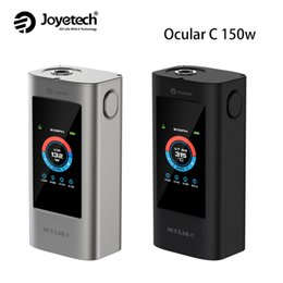 Wholesale Gallery Photos - Authentic Joyetech 150w Ocular C Touchscreen TC Box Mod Ocular 80W Touch Screen Mod with Photo Gallery, Music Player and Pedometer Function