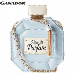 Wholesale Body Dating - Wholesale- Ganador free shipping! 2015 hot fashion women messenger bags perfume shape handbags cute single shoulder bags for date LS6225na