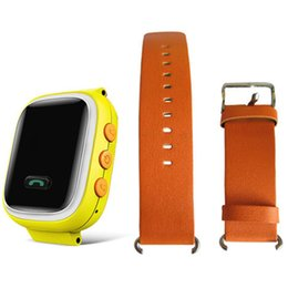 Wholesale Gps Sos - .2017 New Children Q60 Smart Watch Wristwatch SOS Call Location Finder Tracker for Kid Safe Anti Lost Monitor PK Q50 Q80 Wholesale
