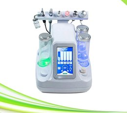 Wholesale Oxygen Beauty Equipment Skin - 6 in 1 oxygen jet facial microdermabrasion diamond microdermabrasion cleaning rejuvenation equipment for spa salon clinic beauty center