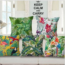 Wholesale Sofa Seat Cushion Covers Wholesale - Tropical Cushion Covers Throw Pillow Chair Cushion Seat Pad Sofa Sofa and Car Cushion Cover