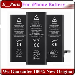 Wholesale Original New Battery - (100% Full Original New)!!!!!!! Not Copy ~! Zero Cycle Built-in Internal Li-ion Replacement Battery For iPhone 4 5 6 7 7P By UPS Fedex