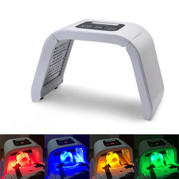 Wholesale Facial Beauty Treatment - New 4 Color LED PDT Light Skin Care Beauty Machine LED Facial SPA PDT Therapy For Skin Rejuvenation Acne Remover Anti-wrinkle Portable