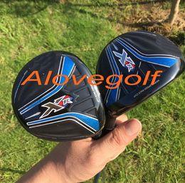 Wholesale wholesale golf putters - high quality golf woods XR fairway woods 3#5# with Japan BB6 stiff flex shaft 2pcs golf clubs