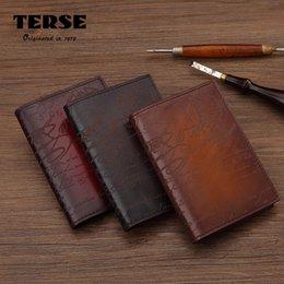 Wholesale Korean Import Bags - TERSE Brand Imported Italian cowhide leather Passport package Multi function Genuine leather Waterproof card bag High-end Certificate bag