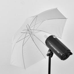 """Wholesale Umbrella White Diffuser - Wholesale- 33"""" 83cm Photo Studio Video Soft Umbrella Photography Translucent White Flash Light Diffuser Umbrella Camera Accessories"""