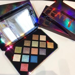 Wholesale Christmas Eyeshadow - EPACKET Fenty Beauty by Rihanna Galaxy Glitter Eyeshadow Palette 0.56oz Limited Edition for Christmas gift fast shipping