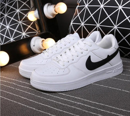 Wholesale Drilled Shoes - 2017 Hot New Top Quality Men and Women upgraded version New All White Shoes and black with Air drill size 36-44 Free shipping run shoes